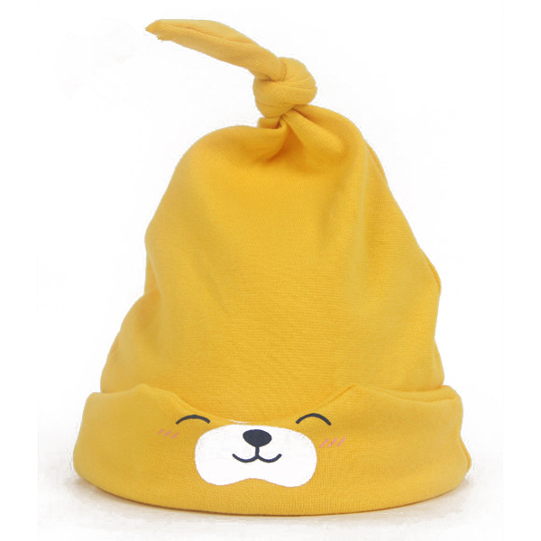 baby cap yellow